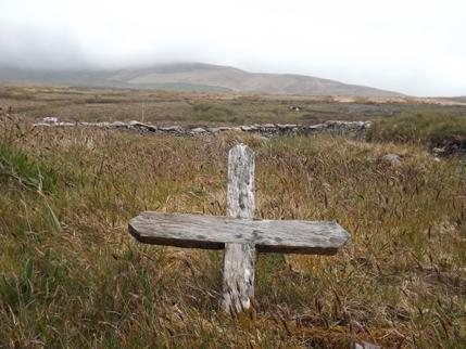 Old Cross on Irish Language walking tour of West Kerry