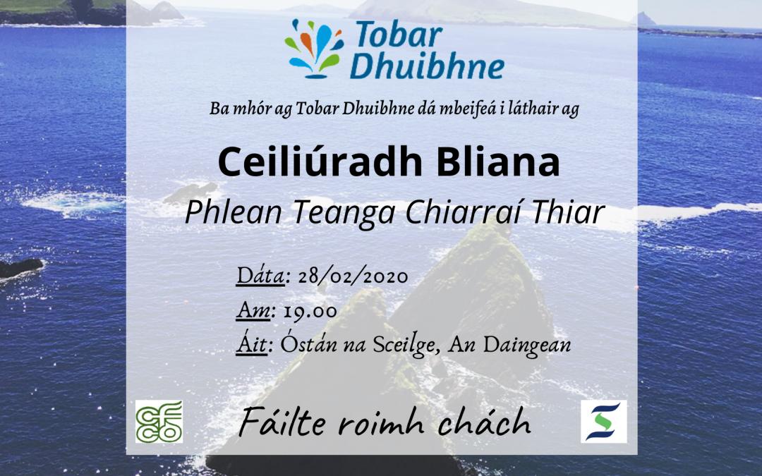 Ceiliúradh Bliana Phlean Teanga Chiarraí Thiar